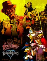KingdomHeartsXRogerRabbit by mikmix