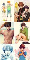 makoharu everywhere by circus-usagi