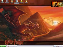 Deathly Hallows Desktop by Freedom-Falling