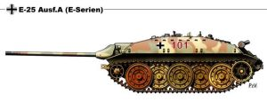 E 25 Ausf A by nicksikh