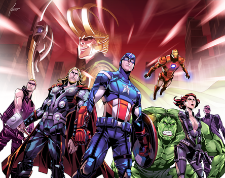 AVENGERS! by kevinTUT
