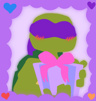 Be Donnie's Valentine by AnimeWaterFall