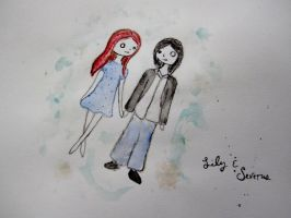 Lily and Severus by GaBrIeLlA123