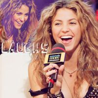 Laughs - Shakira by stefi-one