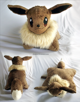 Eevee Pillow Pal by xBrittneyJane