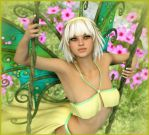 The Spring Fairy by karibous-boutique