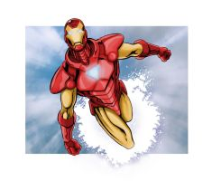 Iron Man Con Sketch by Kminor