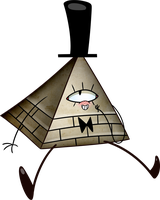 Gravity Falls - Pyramid Guy by Extra-Dan