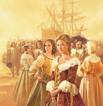 Les filles du roi   large view by charlesvinh
