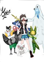 my pokemon BW team by penguinlover98