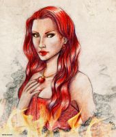 Melisandre by MartAiConan