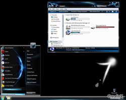 Konkave Kobalt-Theme for Win 7 by duongarcno3