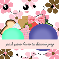Pack para hacer tu kawaii png by avrillatica