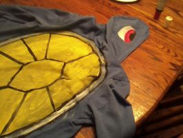 squirtle jacket -WIP- by xFireflowers