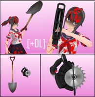 Shovel and circular saw [+DL] by BooMaker