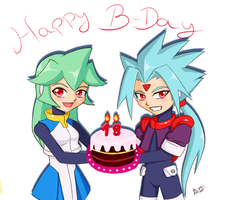 B-day gift to Tai-chan by Aimiotakuzero