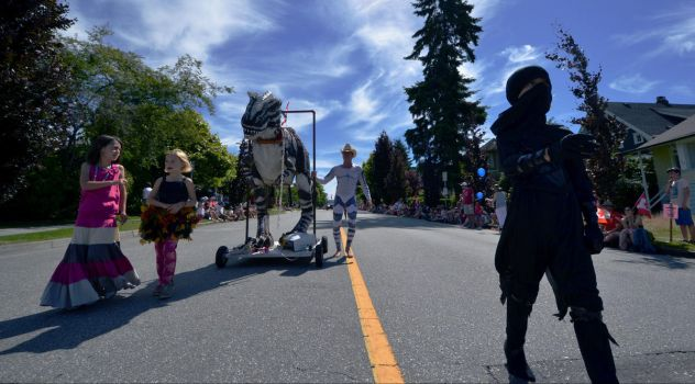 North Vancouver Canada Day Parade 2014 - The Walk by Hxes