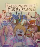 Welcome To The Furry Fandom! by Jackburned