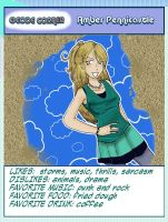 Character Profile: Amber by TRALLT