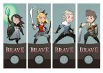 Bravely Default - Brave set by laughinguy