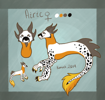 Airic Reference Sheet by Kama-ItaeteXIII