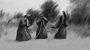 The Norns by ThoughtMemory
