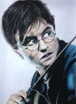 Harry Potter : Daniel Radcliffe (drawing) by JakubQaazAdamski