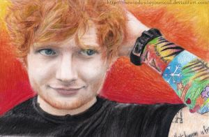 Ed Sheeran by TheWindowToYourSoul