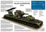 Russian Land-Battleship KV-VI by VonBrrr