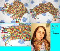 Colorfull Scarf by BiggieShorty