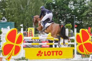 3DE Show Jumping Phase Stock 55 by LuDa-Stock