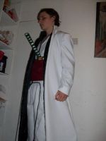 Aizen Cosplay by timberTslayer