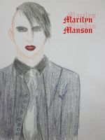 Marilyn Manson MM by axrinekey