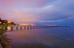 Western Beach Pier by DanielleMiner