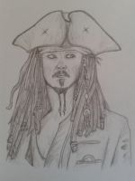 Captain Jack Sparrow by Perianth5