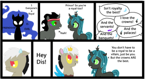 Friendship is Evil: Everyone's a Royal by Moonpaths