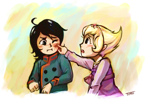 doesn't that hurt? by Timidemerald
