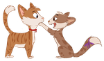 mike cat and me cat idk by seductive-woof