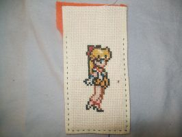 Sailor Venus Cross Stitch by yumeleona23