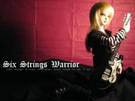 Six Strings Warrior by rosenkreuz