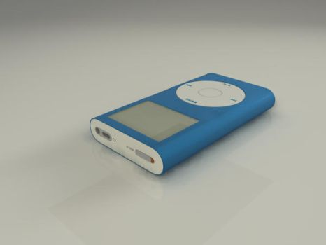 Blue Ipod Min _WIP by grettir