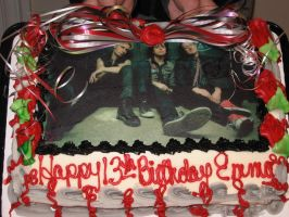 Green Day Cake by Whatsername365