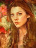 Margaery Tyrell- Natalie Dormer -games of thrones by AnnarXy