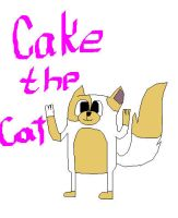 Cake the cat by puppylovesanimals