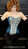 Lace Eambrace-Chandelier Collection (Blue Corset) by laceembrace