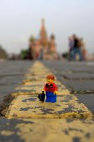 Tourist in Moscow by solcarlusmd