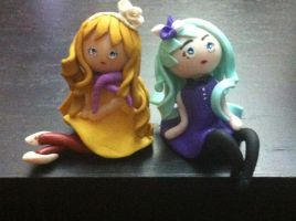 Little Lolita en fimo by Lillycherry-Creation