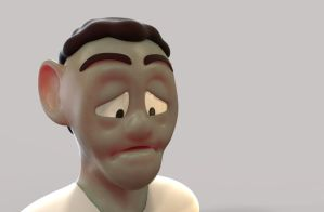 Zbrush doodle day 107 - Dave by UnexpectedToy