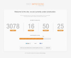 First Impressions - An Under Construction Theme by Henerz-Design