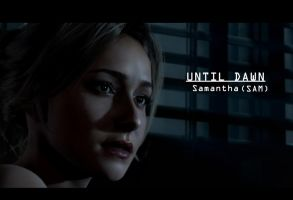 Until Dawn Sam Wallpaper by rochefortLili